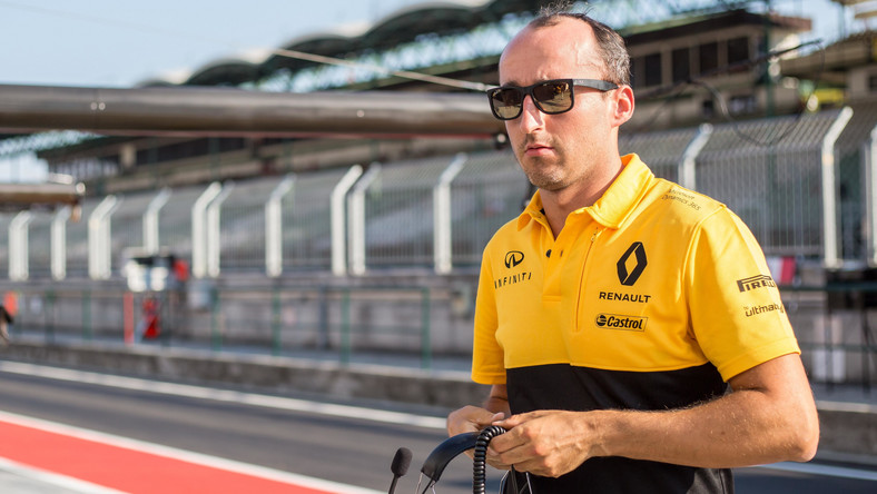 Robert Kubica, Testy F1