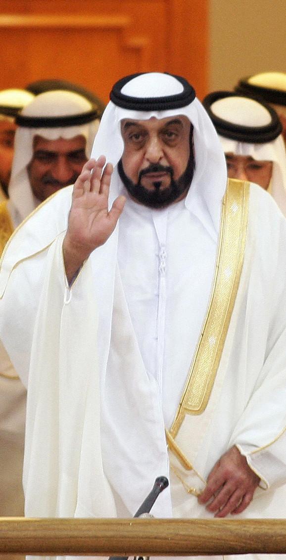 Šeik Kalifa bin Zajed al Nahjan, predsednik Ujedinjenih Arapskih Emirata