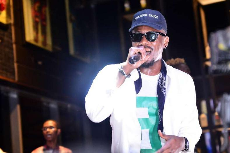 Ycee performing at an edition of Industry Nite [Pulse]