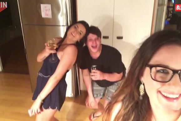 Pozirala je za Instagram, ali je PREVIŠE ALKOHOLA učinilo svoje (VIDEO)