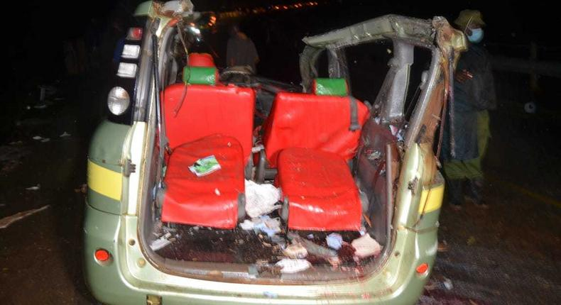 5 dead, 4 seriously injured in grisly accident (Courtesy)