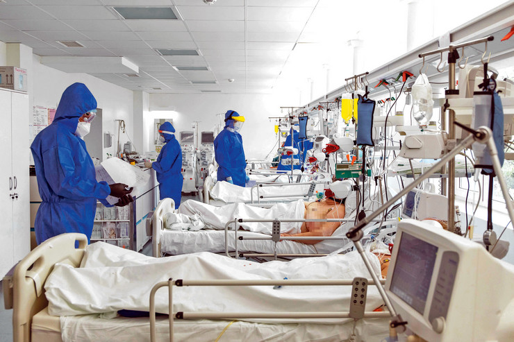 Na intenzivnoj leže najkritičniji pacijenti, čiji oporavak dugo traje