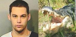 Ucieczka grozy! Krokodyl zjadł młodego złodzieja