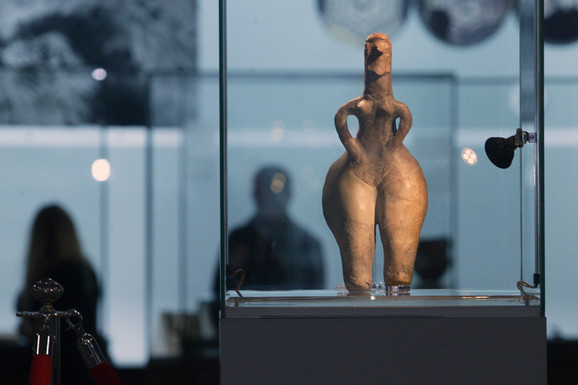 Skulptura će biti izložena u Narodnom muzeju do 6. decembra