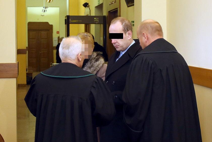 Proces burmistrza Chrzanowa w sądzie w Myślenicach