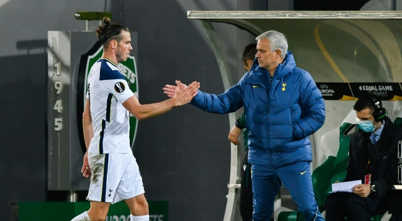 Mourinho uneasy with Arsenal coach managing Bale