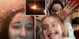 """Umierała w mękach z córeczką. Na Twitterze pisała: """"Pomocy! Dusimy się"""""""