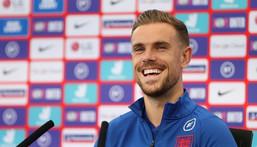 England midfielder Jordan Henderson Creator: Carl Recine