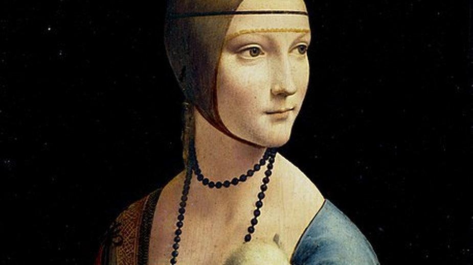 Dama z gronostajem - domena publiczna