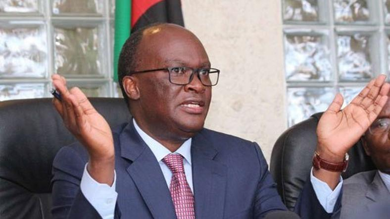 Transport Secretary James Macharia