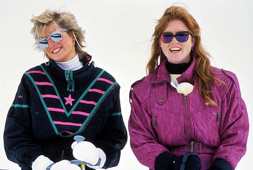Księżna Diana i Sarah Ferguson