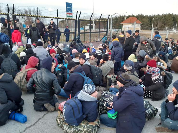 Migranti, Kelebija