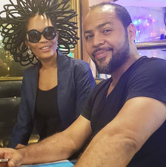 Chika Lann and Ramsey Nouah [Instagram]