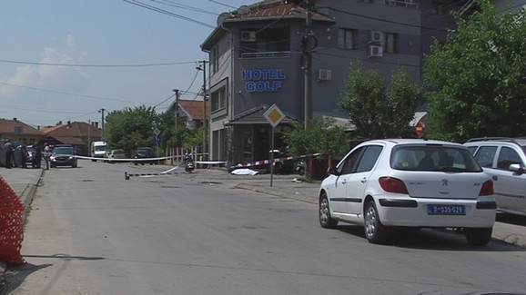 Ubistvo ispred hotela