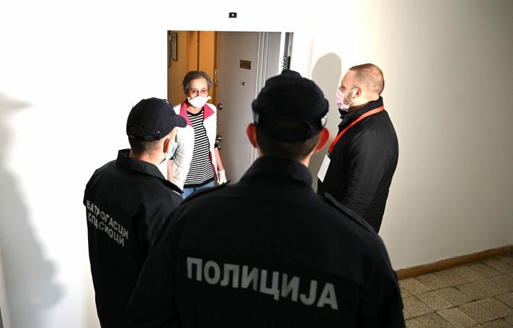 Volonteri, Rakovica, poseta Nebojše Stefanovića