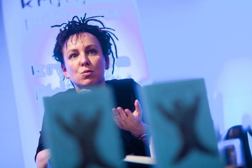 """Olga Tokarczuk """"Bieguni"""", Wydawnictwo Literackie 2007"""