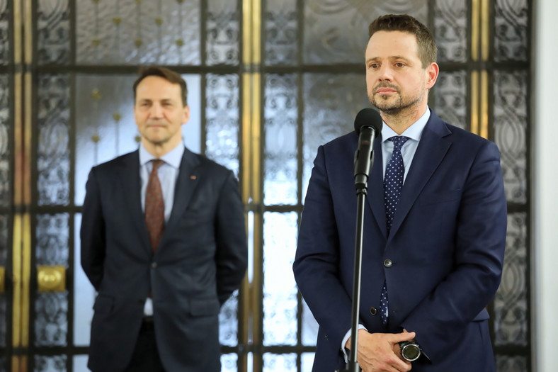 Prezydent Warszawy, nowy kandydat PO na prezydenta Polski Rafał Trzaskowski