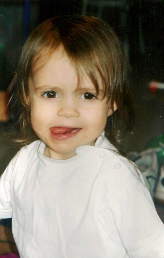 Erin kao devojčica