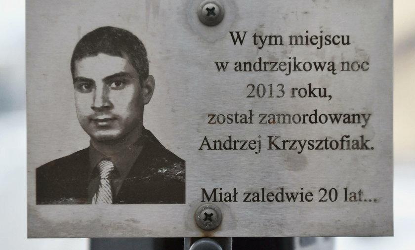 Żądamy dożywocia za zabójstwo Andrzeja!