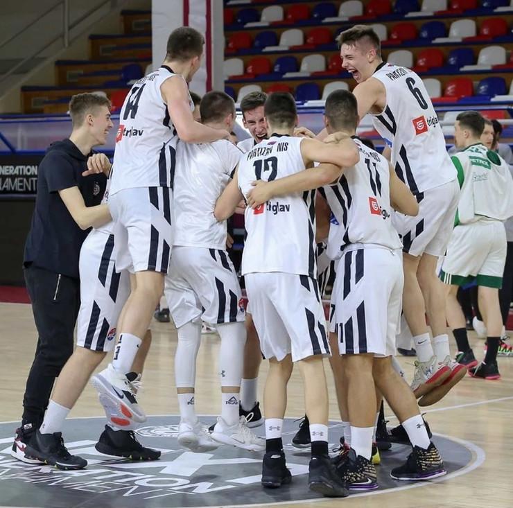 Juniori Partizana slave plasman na F8 Evrolige