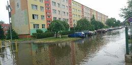 Potężna nawałnica nad Dolnym Śląskiem. Zalane ulice i grad wielkości kasztanów!