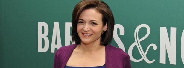 Sheryl Sandberg (Facebook) Obecnie: Facebook - dyrektor ds. operacyjnych Google: wiceprezes ds. sprzedaży i operacji
