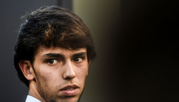 Atletico Madrid's Joao Felix is yet to play a minute for Portgual at Euro 2020 Creator: PATRICIA DE MELO MOREIRA