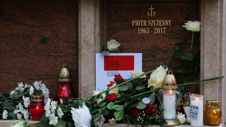 Piotr Szczęsny został pochowany na krakowskim Salwatorze