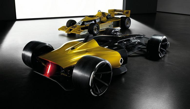 Formuła 1 Renault RS 2027 Vision
