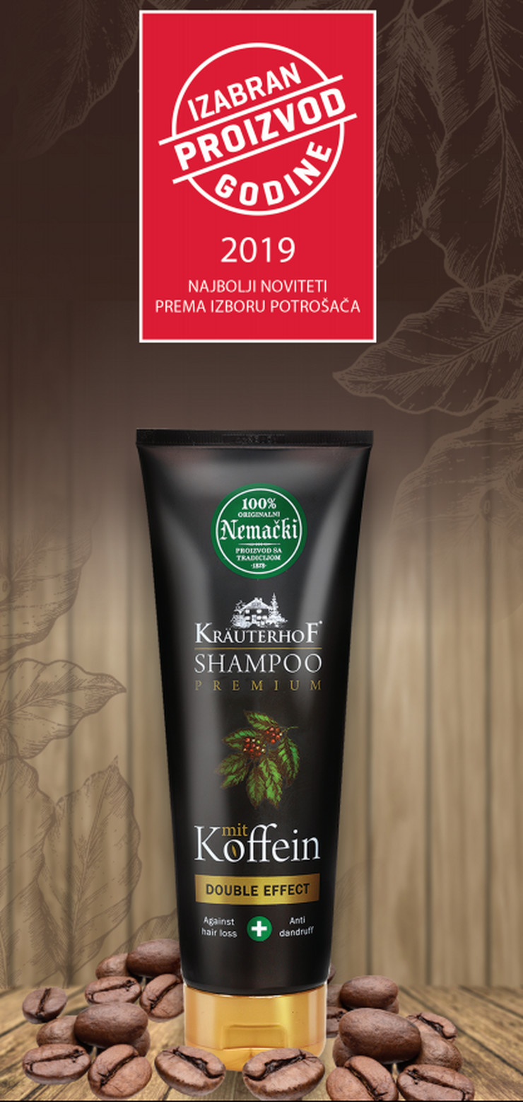 Kofeinski šampon