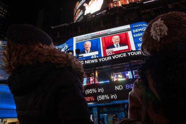 Wybory w USA: Trump kontra Biden