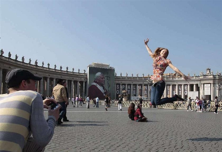 Rzym przed beatyfikacją Jana Pawła II