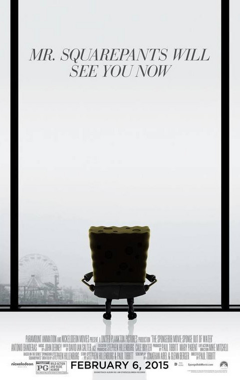 """50 Shades of Yellow"", fot. ""SpongeBob: Na suchym lądzie"""
