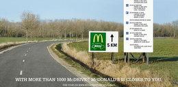 McDonald's kpi z Burger Kinga! Złośliwy billboard