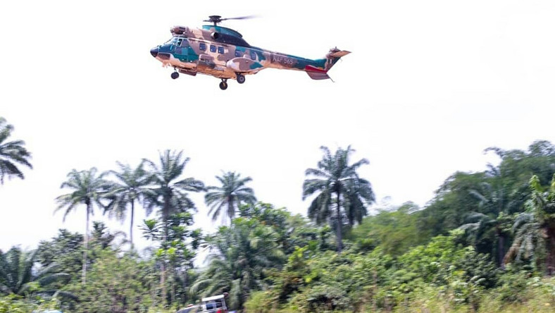 Airstrikes kill 200 bandits in Katsina, Zamfara - Defence Headquarters/Illustration. [Twitter/@NigAirForce]