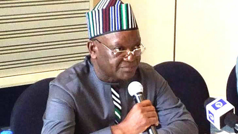 Governor Samuel Ortom of Benue state. (Pulse.ng)