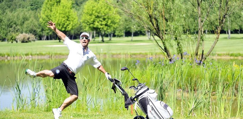 Zagrali w golfa w Siemianowicach