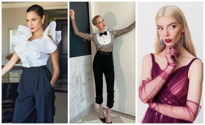Evo osvrta na modna izdanja sa pretsižne filmske dodele nagrada