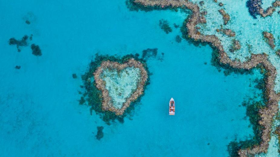 Rafa w kształcie serca, Australia