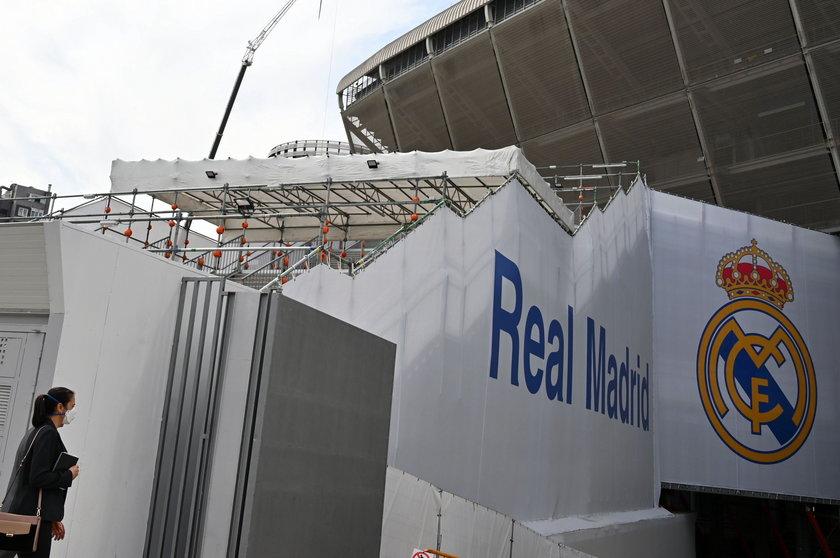 Real Madryt dogra sezon w ośrodku treningowym