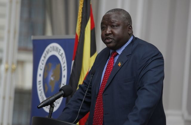 Uganda's State Minister for foreign affairs Henry Okello Oryem. (Howwe.)