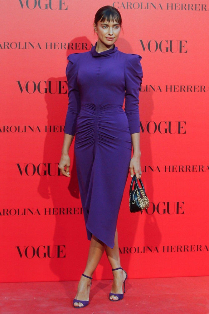 Irina Šajk u istoj haljini na proslavi 30 godina španskog