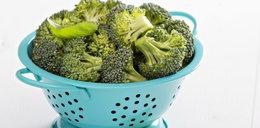 Nie gotuj brokuł! Surowe blokująraka