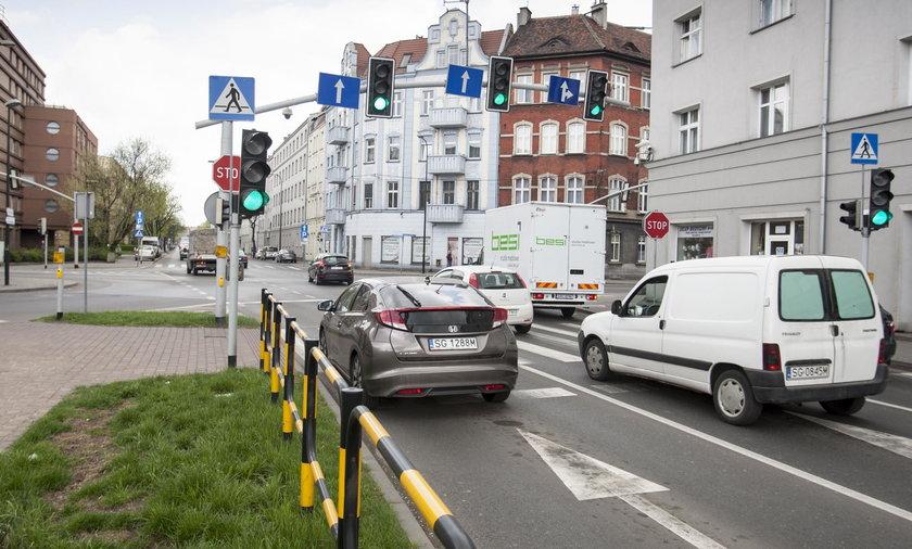 System kierowania ruchem w Gliwicach