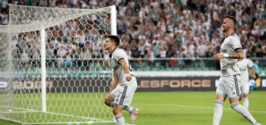 Kuriozalna sytuacja w meczu Legii. Najpierw strzelił fenomenalnego gola, a potem... Coś niepojętego!