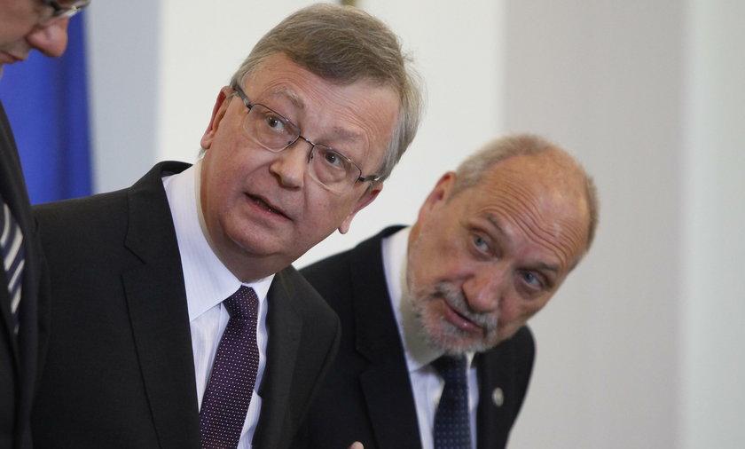 Antoni Macierewicz i Wojciech Fałkowski