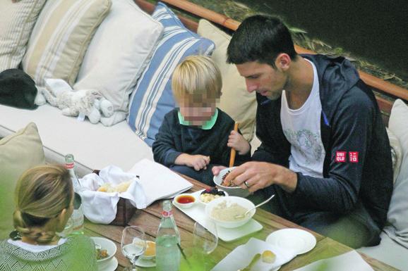 Dok se Stefan nije rodio, meni je tenis bio broj 1, kaže Novak