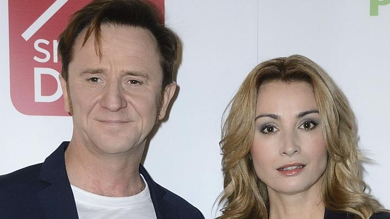 Joanna Brodzik i Paweł Wilczak - piękna para na ściance