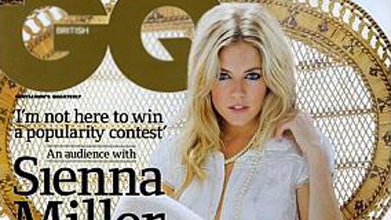 """Niewinna Sienna Miller kusi nagością w """"GQ"""""""