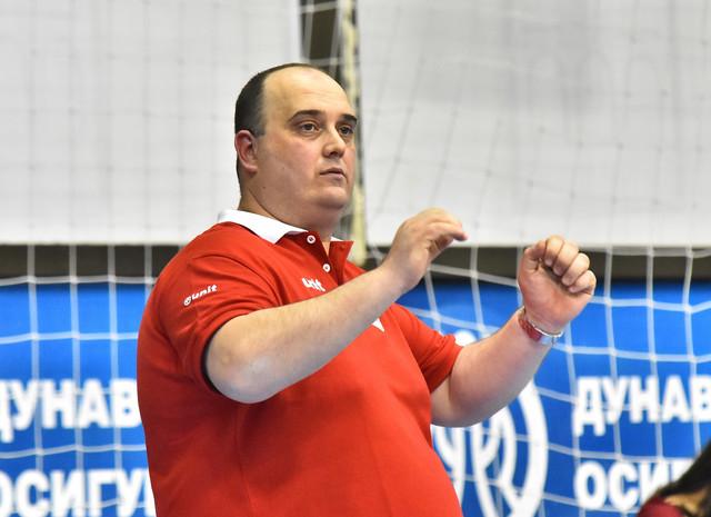 Trener Vojvodine Nedžad Osmankač